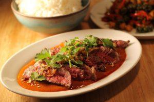 Thai Kitchen - Ribeye auf Penang Currysauce