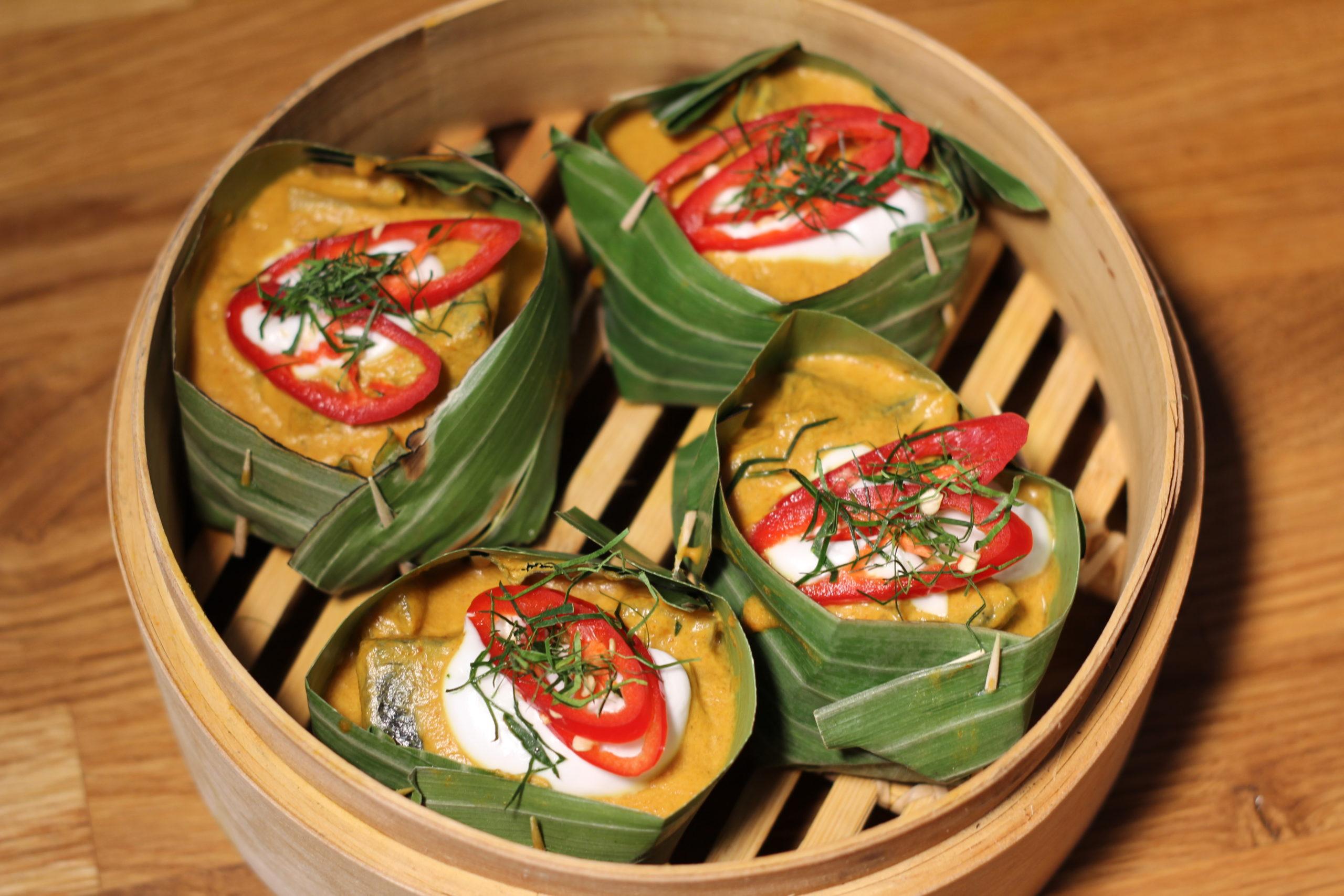 Thai Currys Fisch Amok