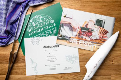 Kitchen Skills Gutschein Messer Pinzette