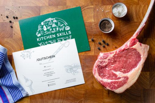 Kitchen Skills Gutschein Steak