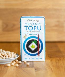 Clearspring Bio Seiden-Tofu Vorderseite