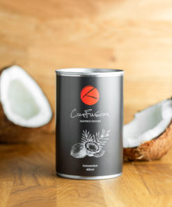 ConFusion Bio Kokosmilch ohne Zusatzstoffe Vorderseite