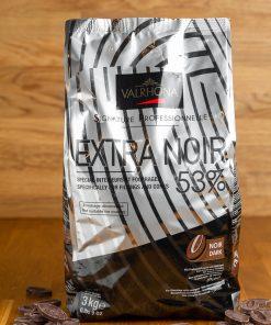 Valrhona Extra Noir 53% 3kg