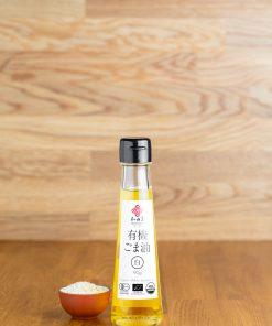 Wadaman Bio Weißes Sesamöl klein Vorderseite