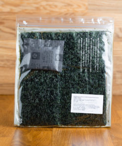 Premium Yakinori - Nori Algen gegrillt Rückseite